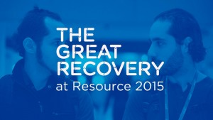 The Great Recovery at Resource Show 2015